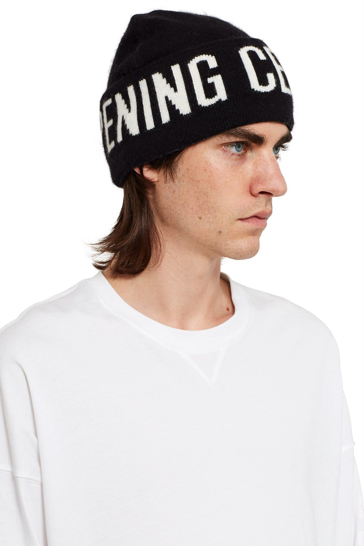 af00a0bd73d OPENING CEREMONY LOGO BEANIE - BLACK.  openingceremony