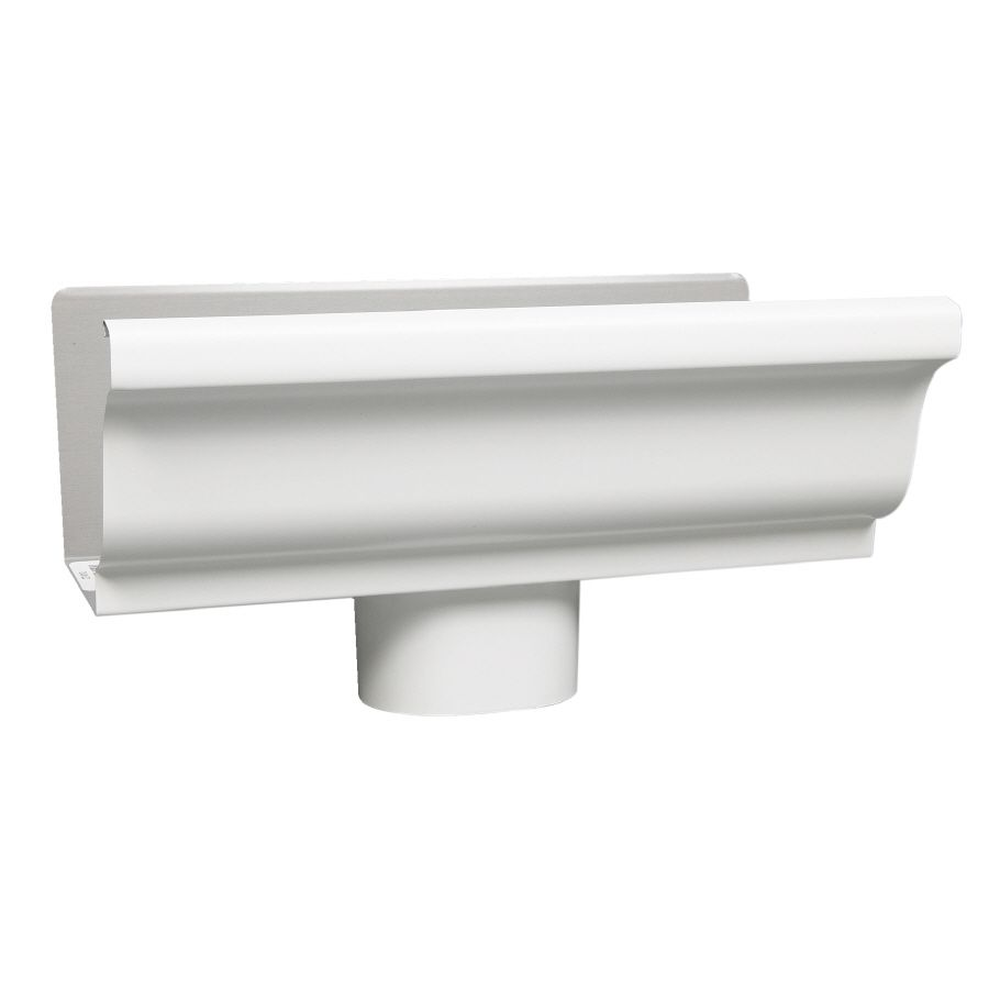 Shop Amerimax 5 In X 10 In K Style Gutter End With Drop At Lowes Com Gutters Gutter Downspout