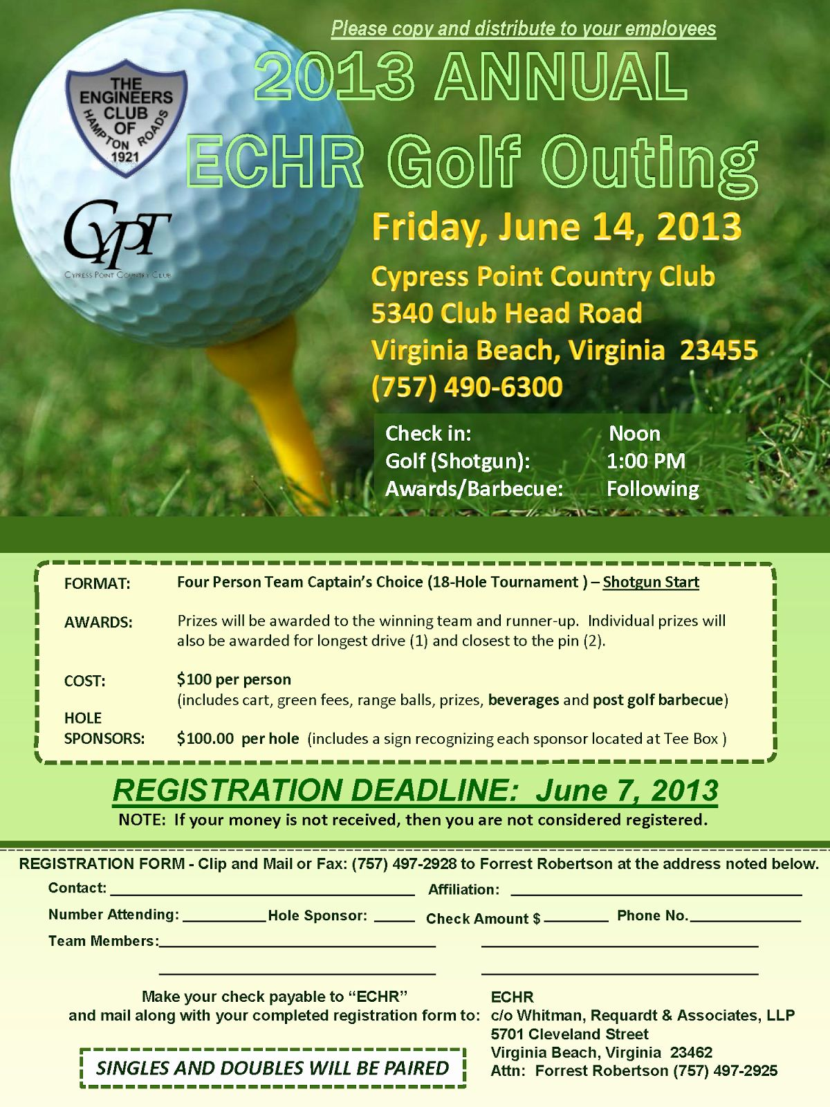 Golf Tournament Flyer Template Word Fresh Golf Outing Flyer