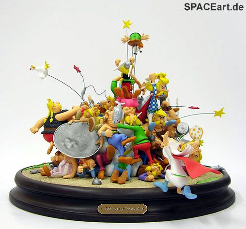 Asterix: 50 Jahre Freundschaft, Statue / Diorama ... https://spaceart.de/produkte/atx001.php