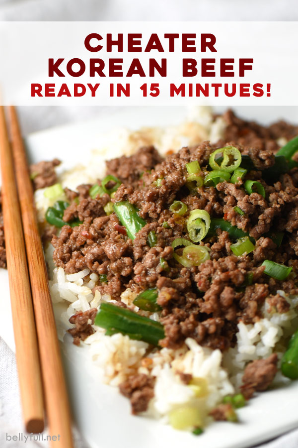 This Cheater Version Of Korean Bbq Uses Ground Beef Instead Of Flank Steak Making It Easier And Che In 2020 Homemade Sweet Chili Sauce Beef Recipes Korean Ground Beef