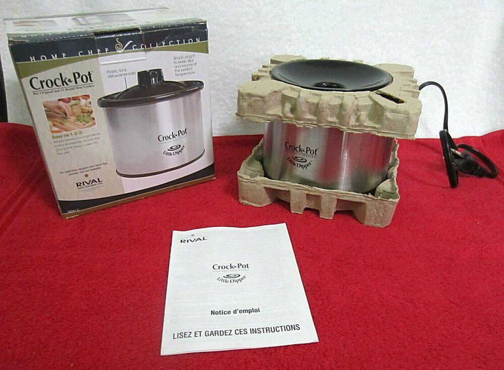 Crock Pot 32041-C Stainless Steel Little Dipper® Warmer