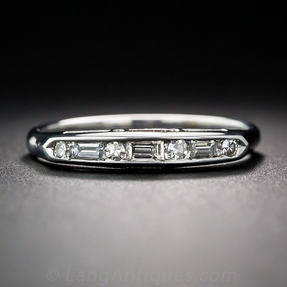 Vintage diamond band vintage engagement rings one day