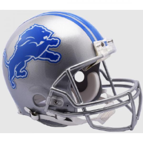 Detroit Lions Helmet Riddell Authentic Full Size Vsr4 Style Special Order Football Helmets Detroit Lions Helmet Detroit Lions Football