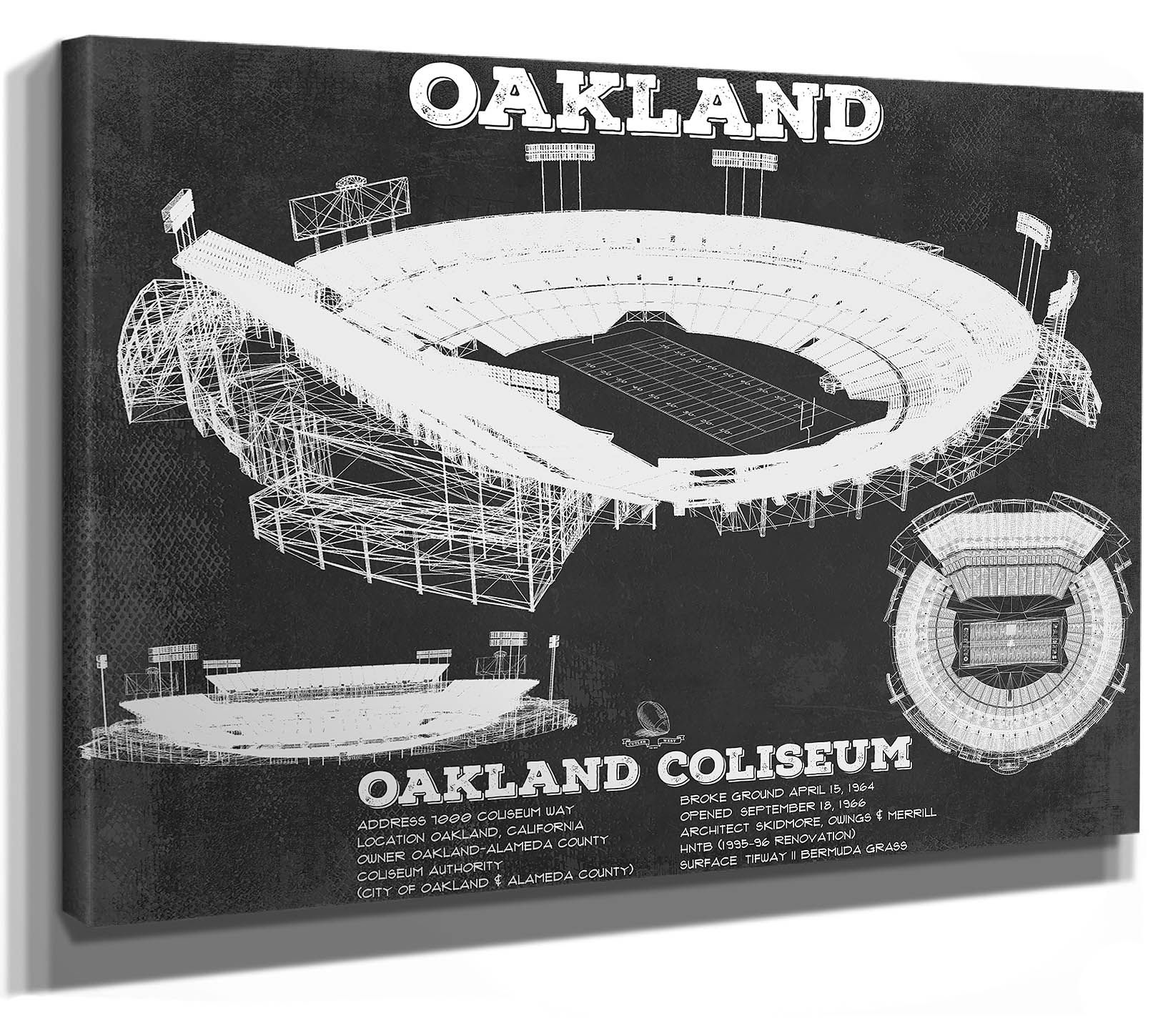 Oakland Raiders Alameda County Coliseum Seating Chart Etsy Oakland Raiders Oakland Raiders Fans Oakland