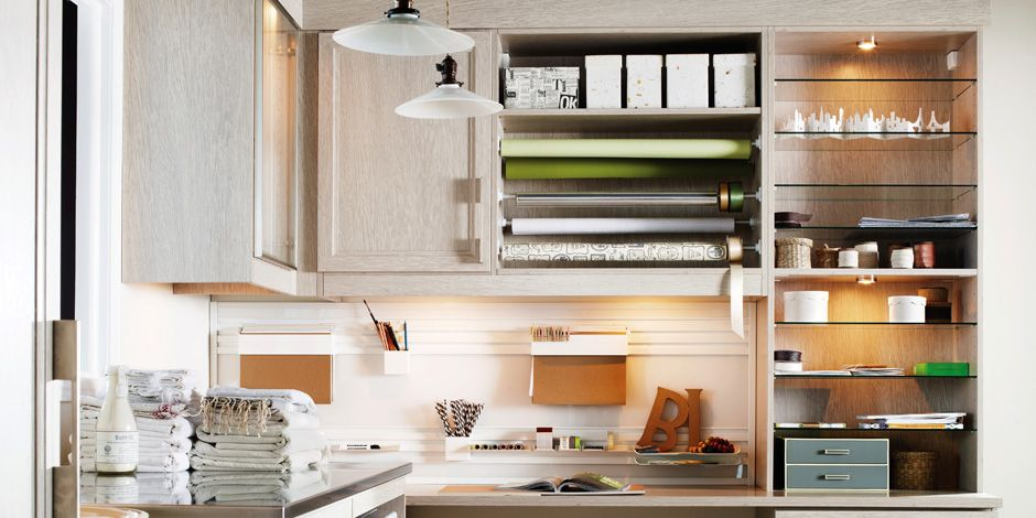 Storage Solutions | California Closets   Where Do I Find Those Gift Wrap  Holders?