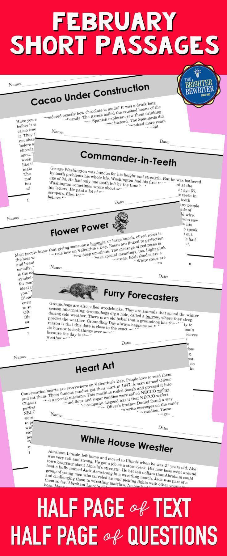 Valentines Day Reading Comprehension Passages Black History Reading Reading Comprehension Passages Nonfiction Reading Passages [ 1800 x 735 Pixel ]