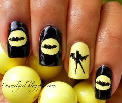Badass Nails All Things Beauty Related Pinterest Bat Girl