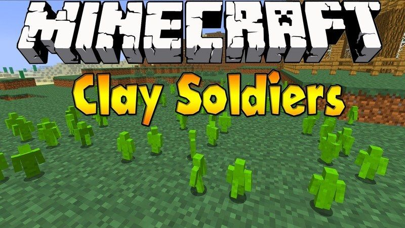 minecraft clay soldiers mod 1.8 download