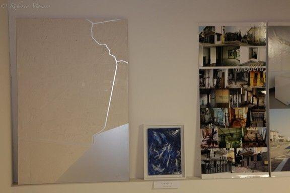 I miei quadri in mostra all'Architects Party presso lo Studio di Architettura Format-c di Thiene (Vi) il 03/12/2014