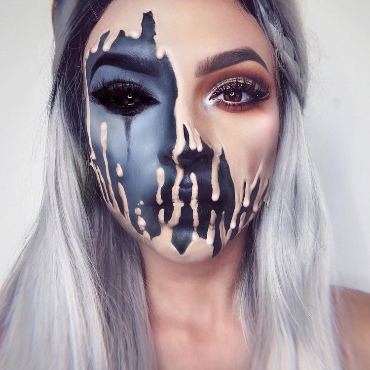 Photo of Optical illusion through make-up for Halloween and carnival: 47 inspirations from 7 make-up artists – new best