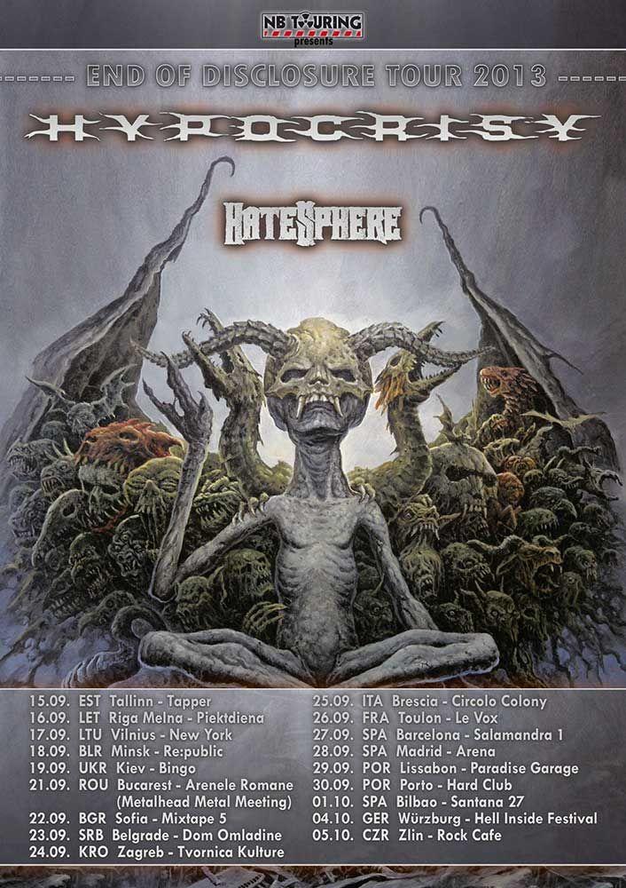29.01.2014 End of disclosure tour South America Tour 2014!