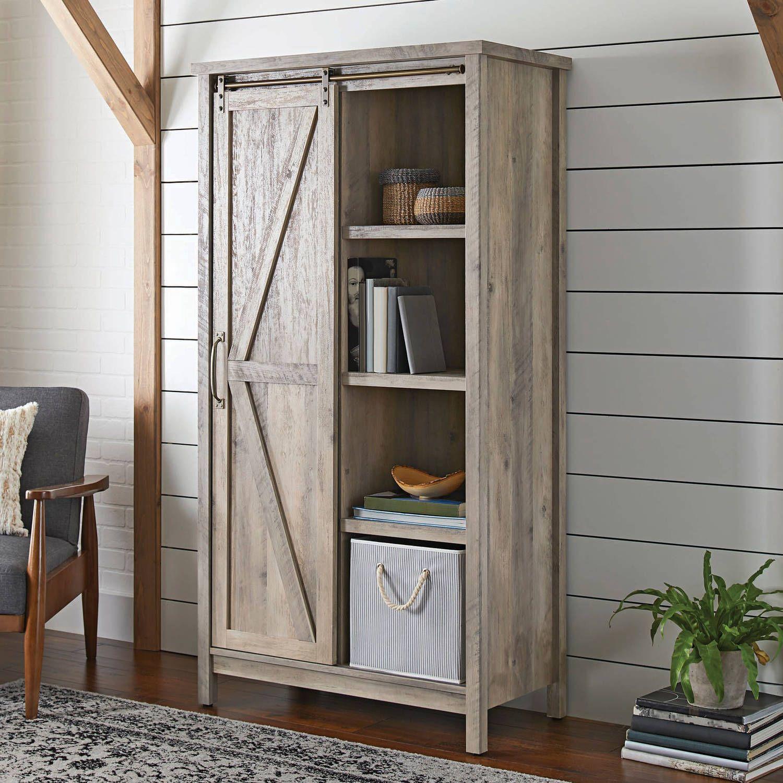 Home Farmhouse storage Bookcase storage