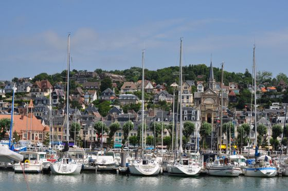 Trouville Normandy (or Normandie)