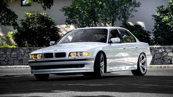 Седан БМВ 7-серии Е38 1955 / BMW 7-серии E38 1995 ...