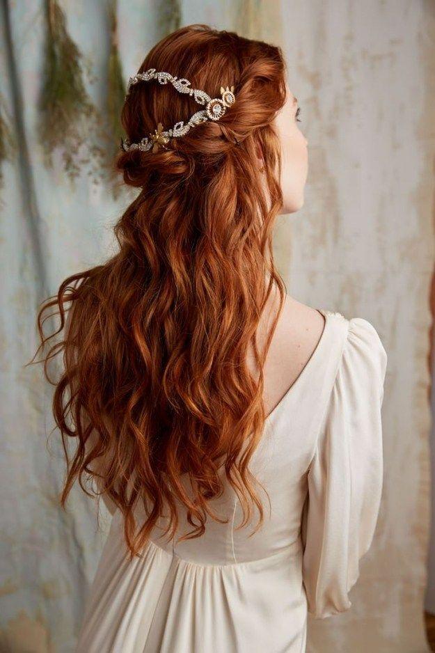 Bridesmaid Hairstyles For Long Red Hair Hair Styles Bridal Hair Inspiration Long Hair Styles