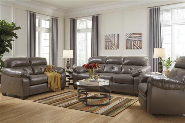 Bastrop Durablend Contemporary Pvc Fabric Living Room Set