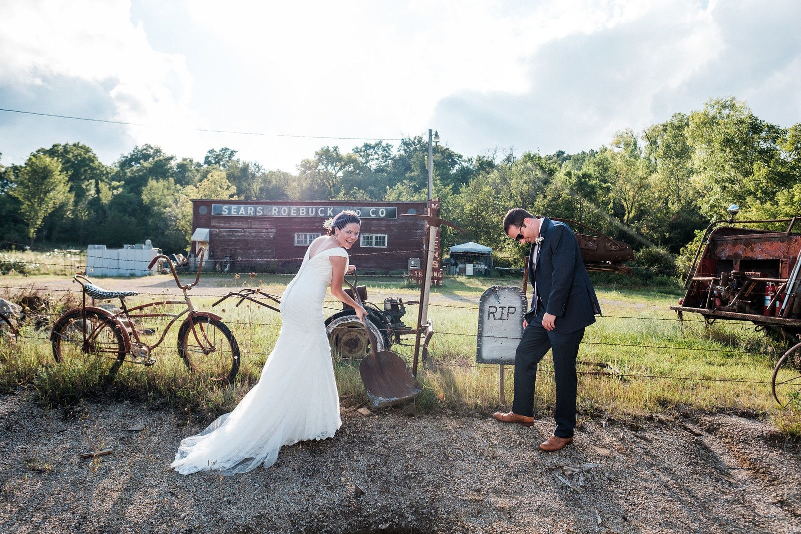 Chestnut Mountain Resort Summer Wedding