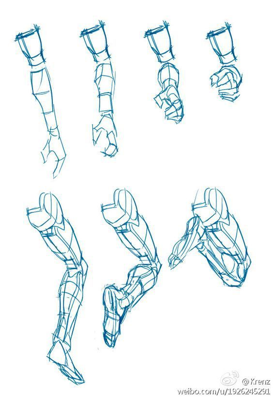 Character Design Collection: Legs Anatomy | Bocetos | Pinterest ...