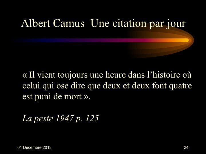 Albert Camus (1913-1960) n° 24