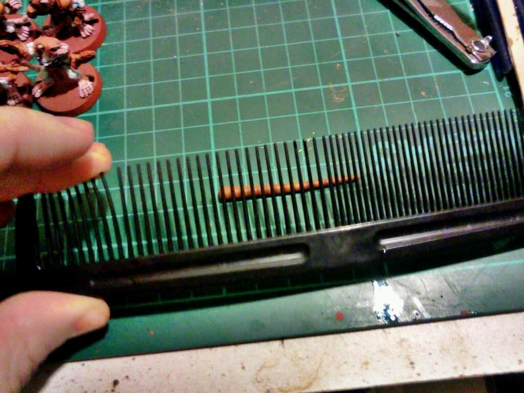 Confessions of a 40k addict: Impromptu tentacle maker