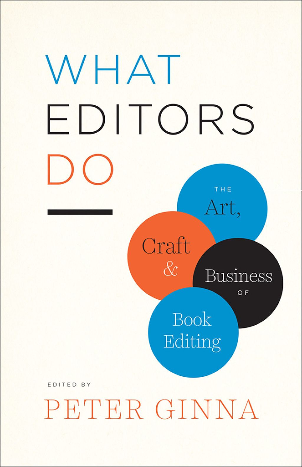 What Editors Do (eBook) In 2019