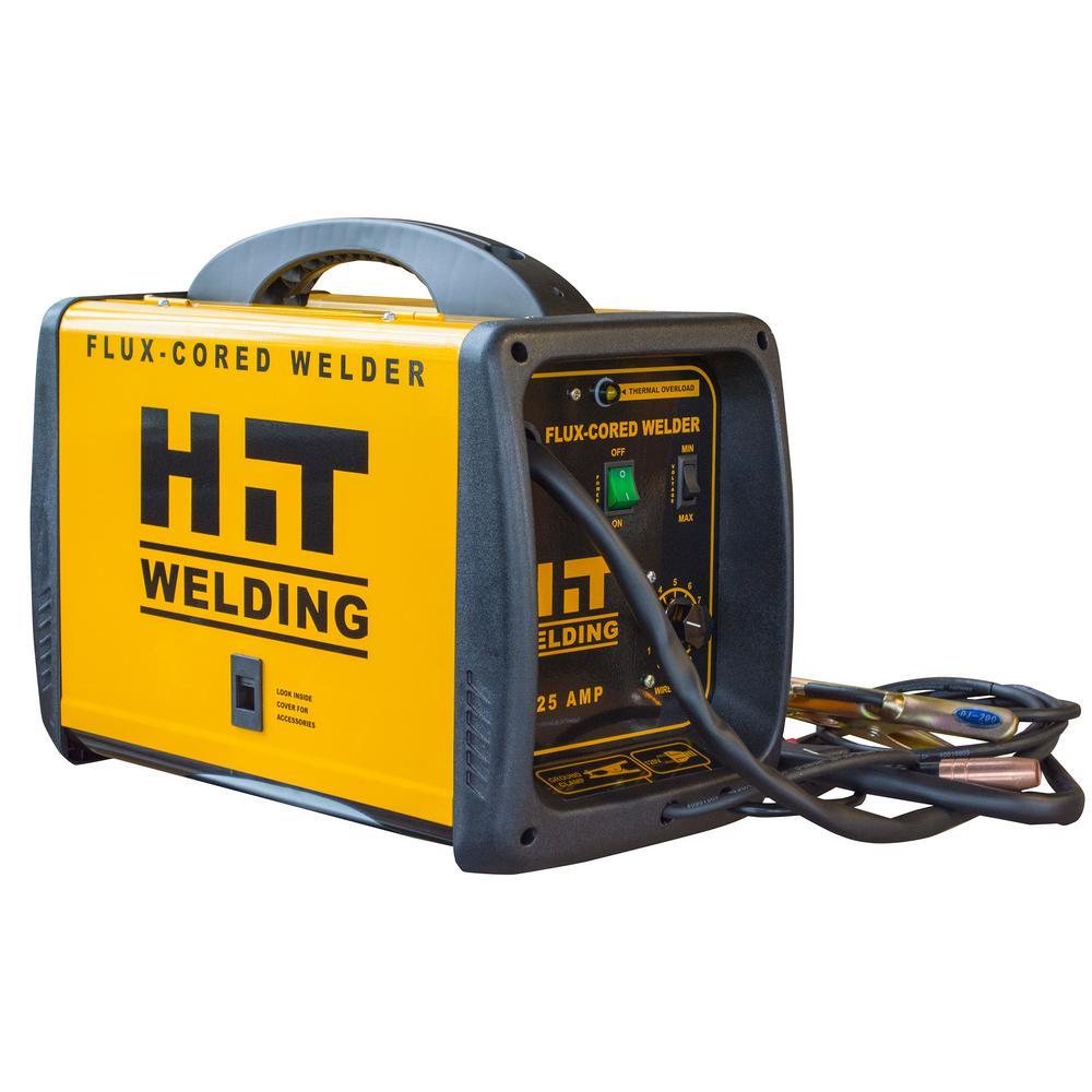 Hit Welding 125 Amp 120 Volt Flux Cored Welder 802047 Welding
