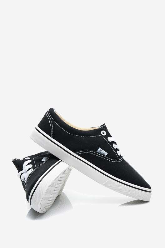 Czarne Trampki Damskie Lula Vans Old Skool Sneaker Vans Sneaker Vans Old Skool