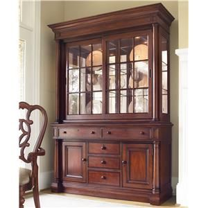 Fredericksburg China Cabinet With Touch Dimmer Lighting By Thomasville At Sprintz Furniture Thomasville Furniture China Cabinet Furniture