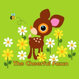 The cheerful fawn :)