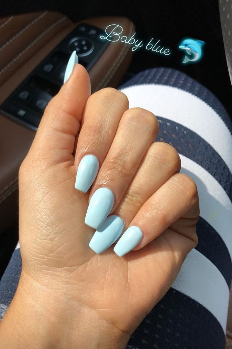 Pin By Keeli Renee On Nails In 2020 Blue Acrylic Nails Summer Acrylic Nails Short Acrylic Nails