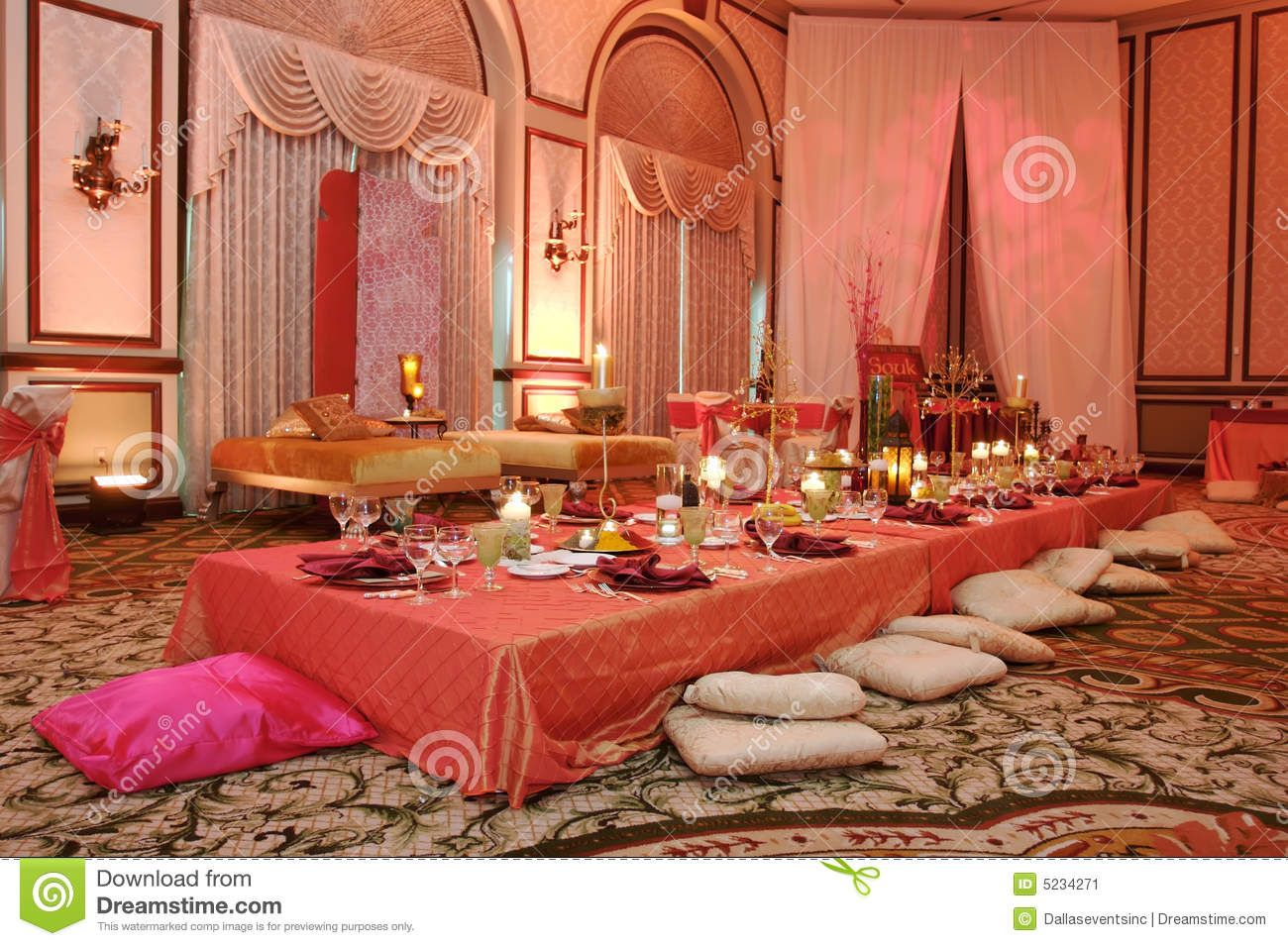 Table Setting At A Luxury Wedding Reception Stock Image - Image . & 10 best moroccan theme images on Pinterest | Moroccan theme ...