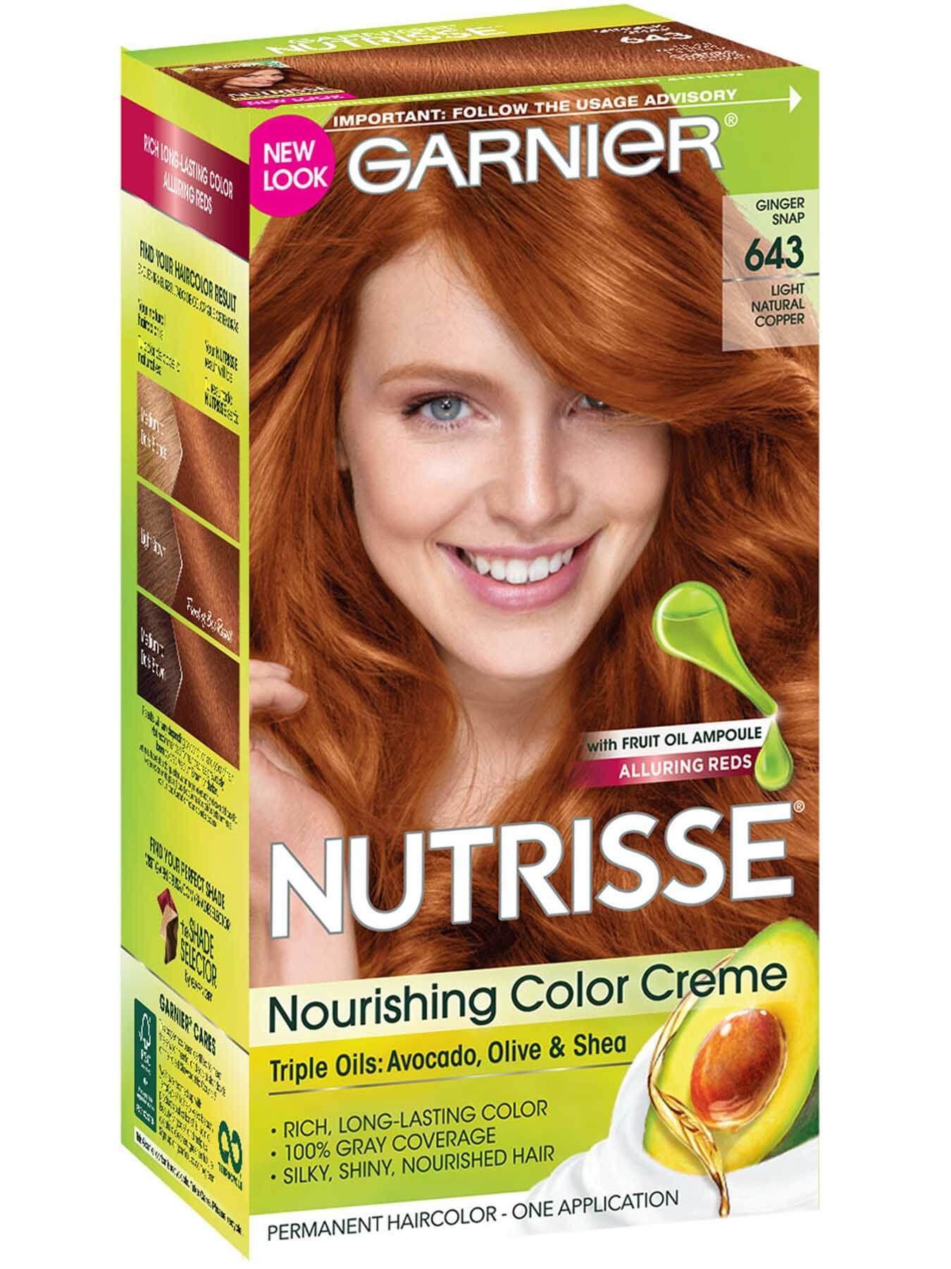 643 Light Natural Copper Color De Pelo Cobrizo Tintes De