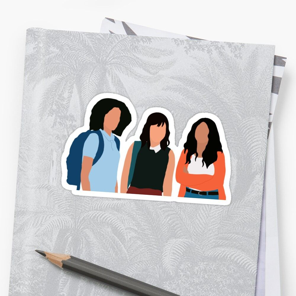 'Never have I ever friends ' Sticker by katelyngonos in