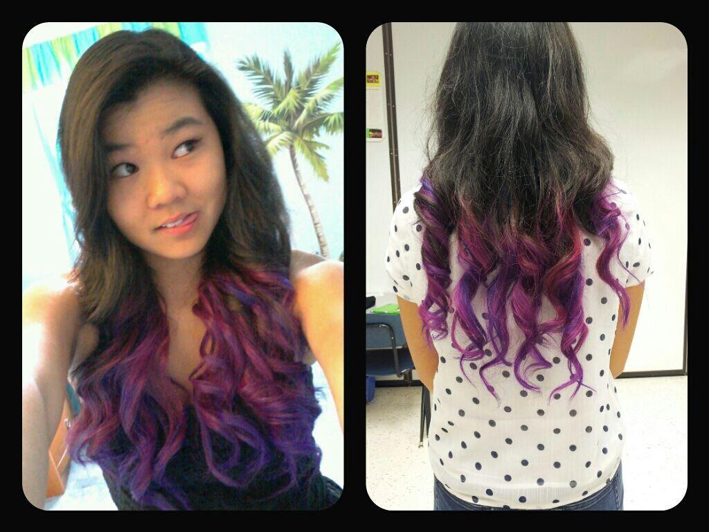 Splat Lusty Lavender Dip Dye Cute Hair Colors Dip Dye Hair Purple Hair