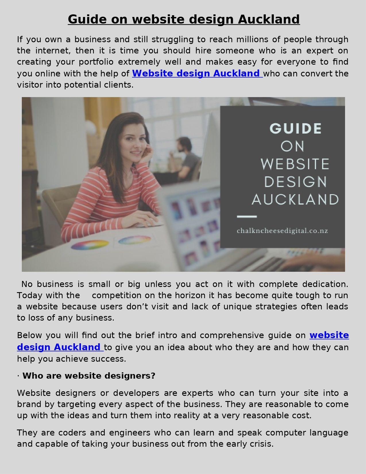 Small Business Web Design Auckland