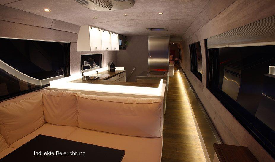 Luxus wohnmobile innenausstattung  Volkner Mobil Performance Bus - Bildergalerie | Camping ...