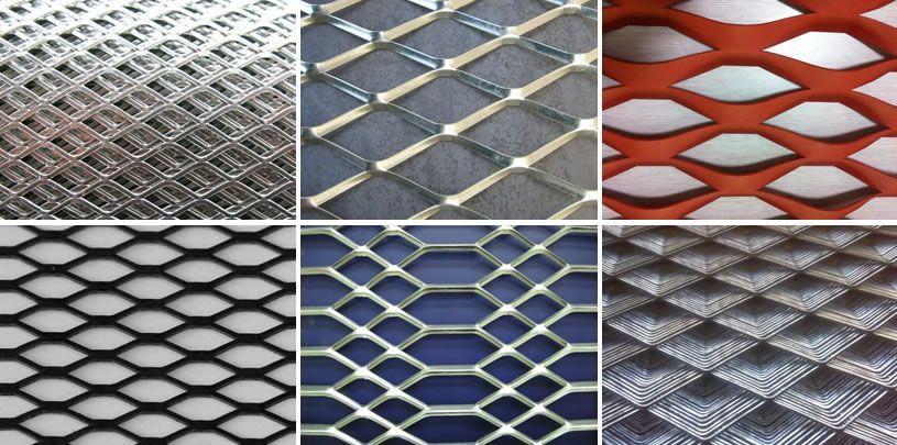 Aluminum Expanded Metal Mesh Yuzhongwang Expanded Metal Mesh