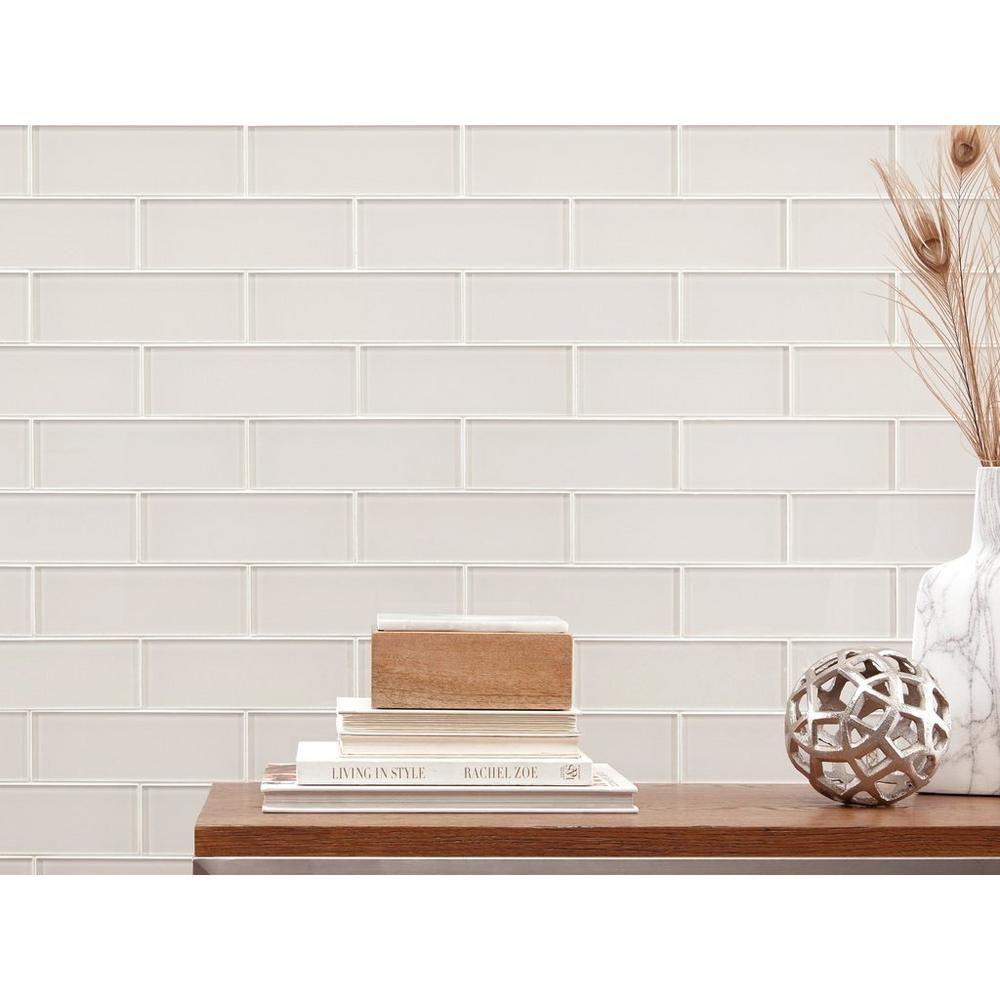 - Ivory Glass Tile - 3 X 9 - 100086313 Floor And Decor Tiles