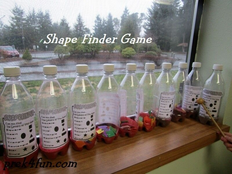 Preschool Shape Finder Game - PreK4Fun