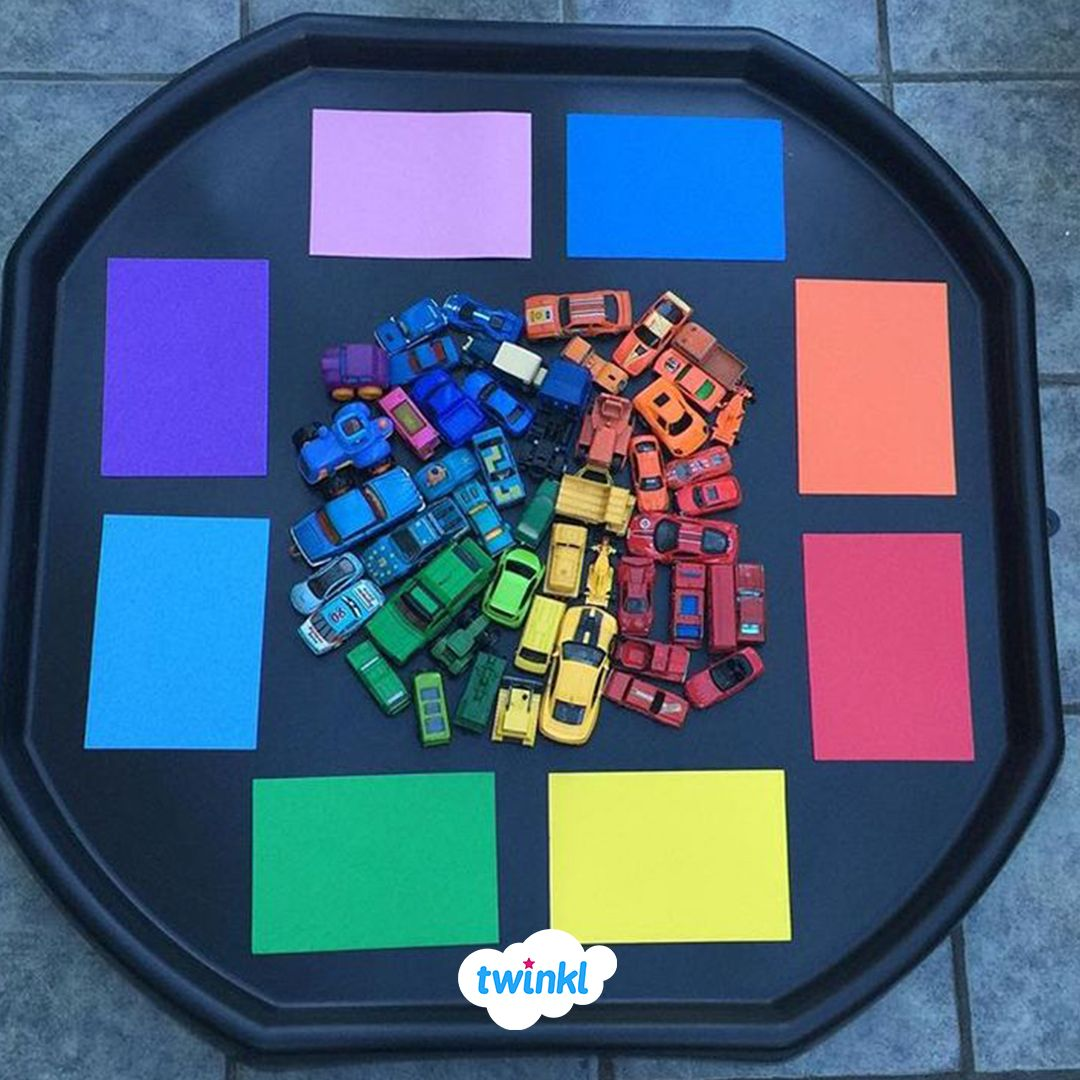 Colour Flash Cards   Tuff tray ideas toddlers, Nursery activities ...
