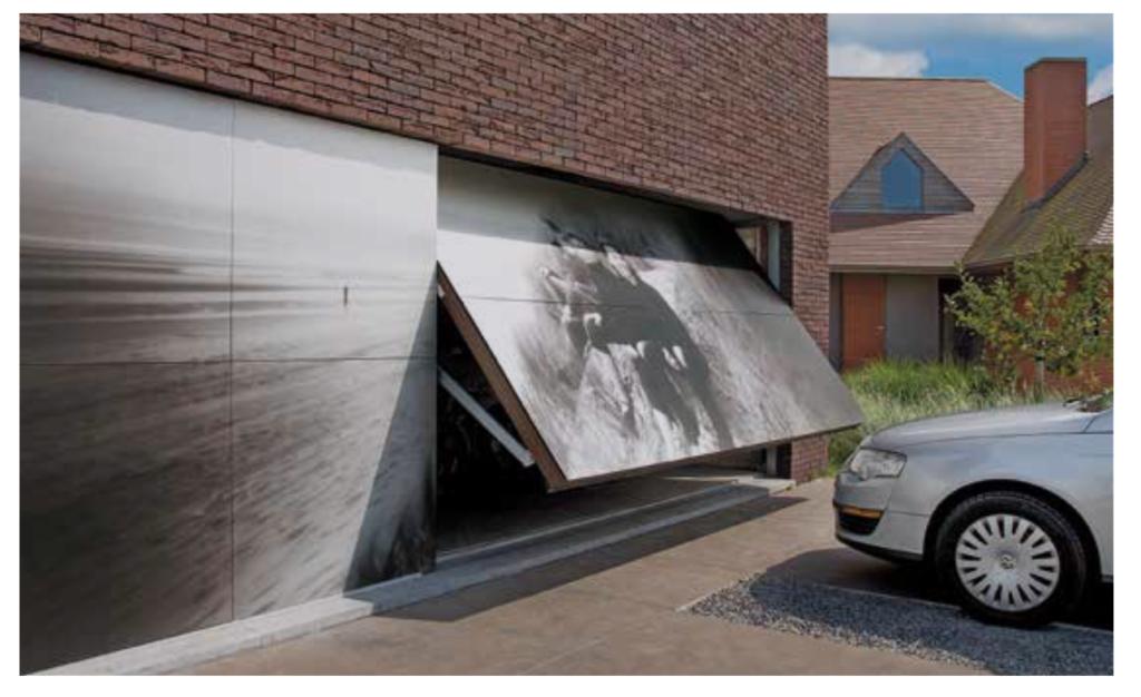 10 id es de portes de garages moderne porte basculante motif 905 cr dit photo hormann j. Black Bedroom Furniture Sets. Home Design Ideas