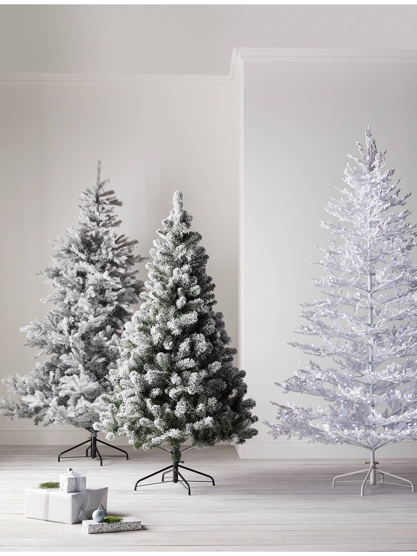 John Lewis Partners Sapphire Snow Queen Pre Lit Christmas Tree