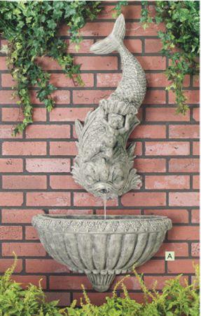 Top 10 Outdoor Wall Fountains Ideas Fontes De Água 400 x 300