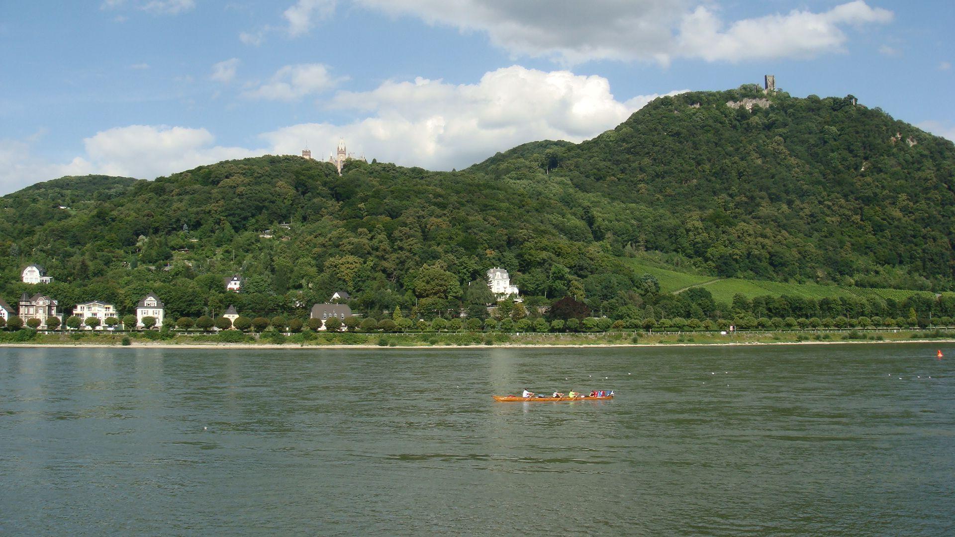 The Bucolic View Across The Rhine River From Bonn Bad Godesberg Joe Cruz Photo Rhine River Joe Cruz Favorite Places
