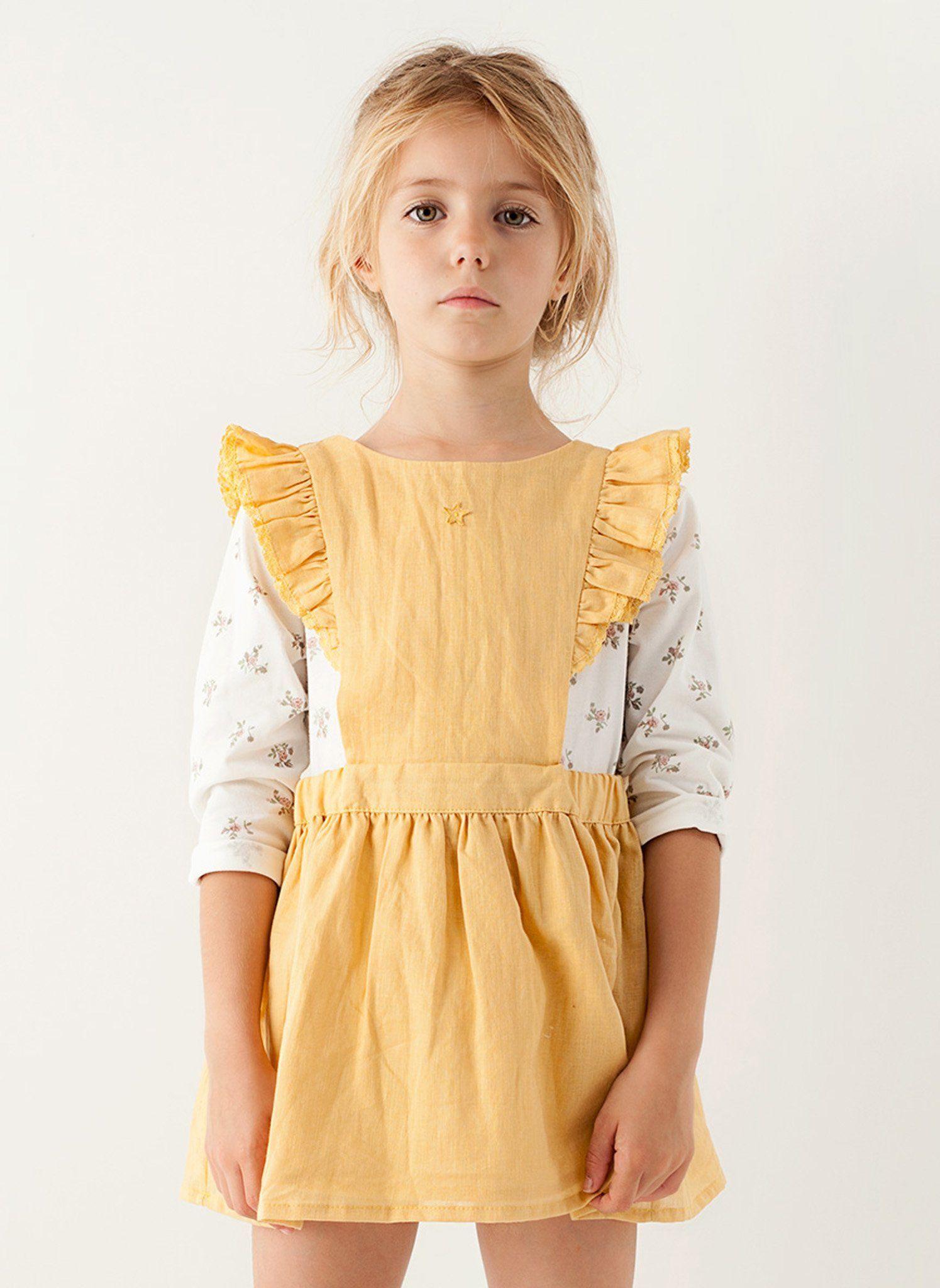 58dc0d33fe20 Tocoto Vintage Girls Short Dress - FINAL