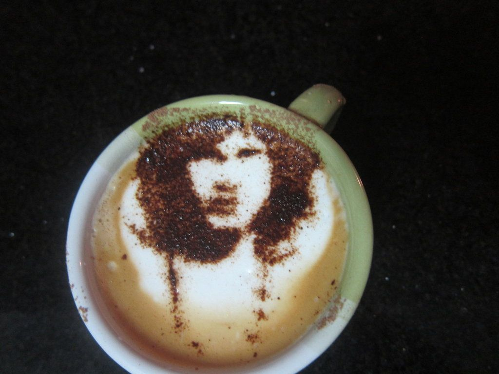 Jim Morrison - The Doors - Latte Art by troskx.deviantart.com on @DeviantArt