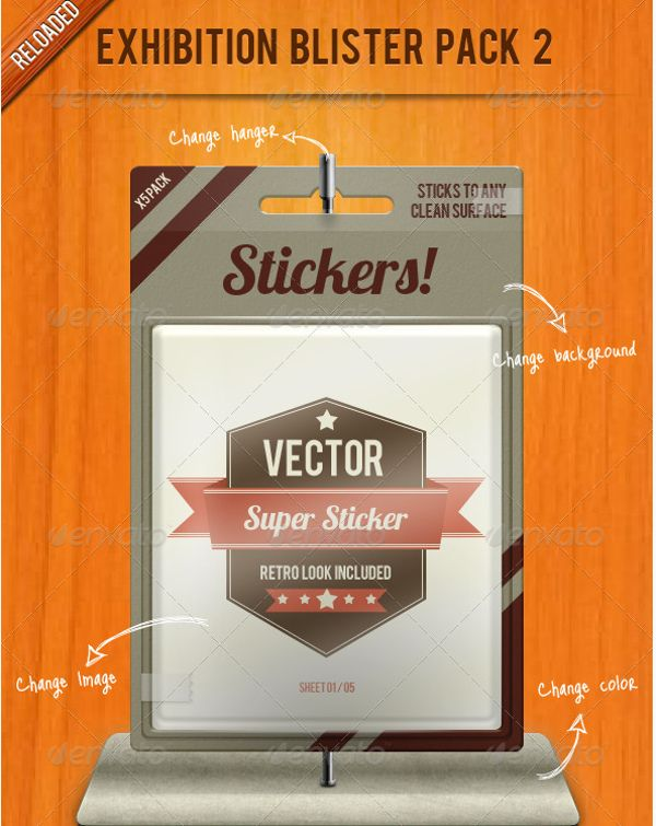 Download Exhibition Blister Pack Mock Up Psd Exhibition Blister Pack 2 Overview Updated With Many More Elem Photoshop Tutorial Design Blister Packaging Packaging Mockup