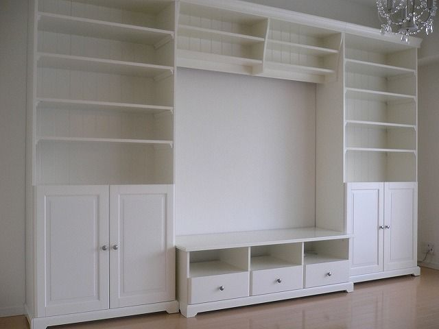 Ikea Liatorp media unit. This is what we decided to get