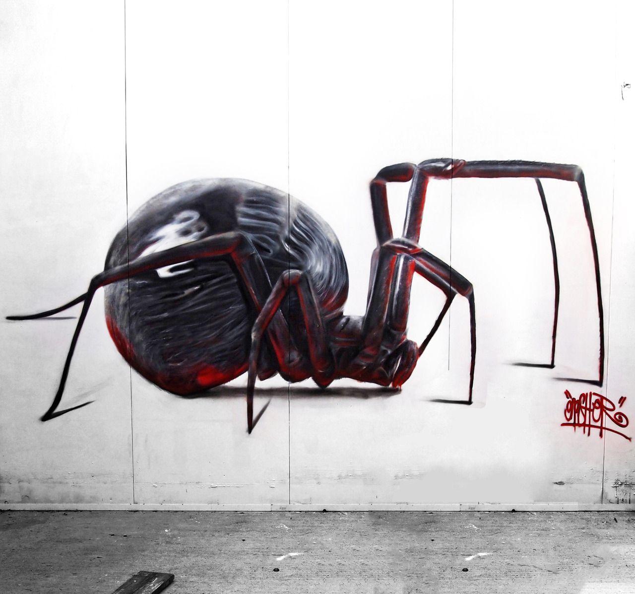 Spider StreetArt